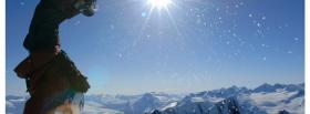 free handstand winter nature facebook cover