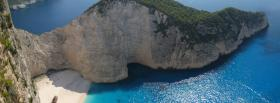 free navagio beach nature facebook cover