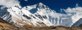 free mount everest nature facebook cover