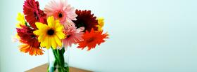 free bouquet of flowers nature facebook cover
