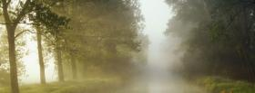 free mist nature facebook cover