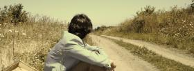 free boy on trail nature facebook cover