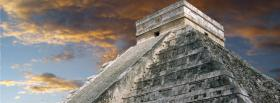 free chichen itza and sky facebook cover