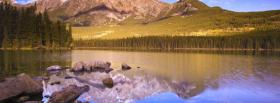 free lake mountain reflection nature facebook cover