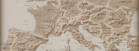 free europe map nature facebook cover