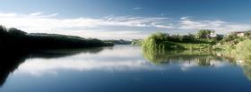 free lake calm nature facebook cover