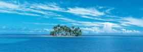 free far island nature facebook cover