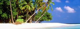 free beach island nature facebook cover