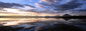 free clouds mountain scenery nature facebook cover