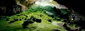 free nature tunnel facebook cover