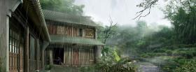 free japan landscape nature facebook cover