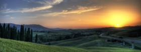 free lakeview of mountains nature facebook cover