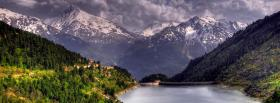 free land of mountains nature facebook cover
