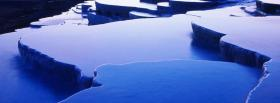 free ice levels nature facebook cover