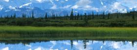 free mountains and simple forest facebook cover