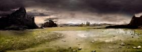 free destroyed nature facebook cover