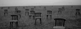 free chairs in nature facebook cover