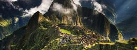 free machu picchu nature facebook cover