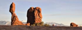 free arches park nature facebook cover