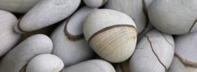 free beautiful pebbles nature facebook cover
