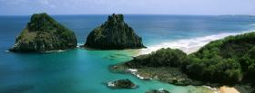 free island in portugal nature facebook cover