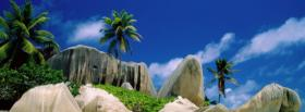 free la digue island nature facebook cover