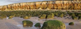 free moss mountains nature facebook cover