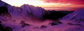 free franz josef glacier nature facebook cover