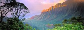 free american mountain sunrise nature facebook cover
