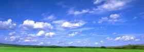 free green field nature facebook cover