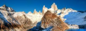 free mount fitz roy nature facebook cover