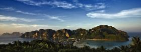free green island nature facebook cover