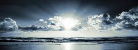 free black and white scenery facebook cover