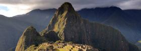 free known machu pichu nature facebook cover