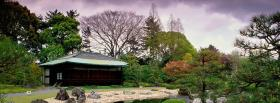 free nijo castle nature facebook cover