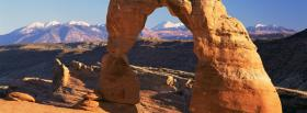 free arches utah nature facebook cover
