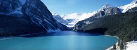 free lake louise nature facebook cover