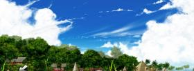 free exotic trees nature facebook cover