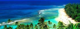 free kee beach hawaii nature facebook cover