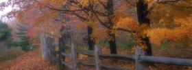 free country fence nature facebook cover