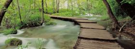 free croatia plivice park nature facebook cover