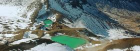 free emerald lakes nature facebook cover