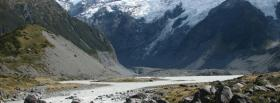 free big mountains river nature facebook cover