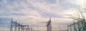free electrical lines sky nature facebook cover