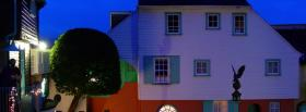 free night portmeirion nature facebook cover