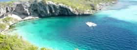 free deans blue hole nature facebook cover