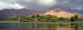 free evan lake nature facebook cover