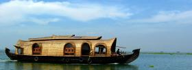 free interesting boat nature facebook cover