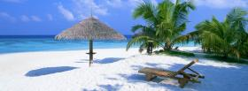 free beach umbrella nature facebook cover
