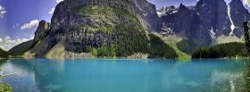 free mountains lake nature facebook cover